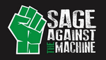 Sage Against The Machine Stone Logo